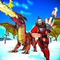 Ultimate Thrones Battle: Epic Dragon Warrior Game icon