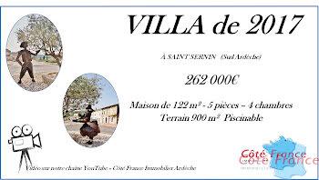 villa à Saint-Sernin (07)