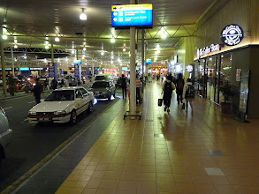 Photo: Kuala Lumpur LCCT airport and flight Cebu Pacific KUL LCCT-MNL (Manila) in night from 7th to 8th february