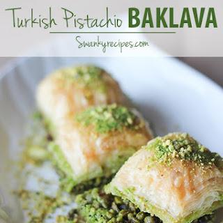 Turkish Pistachio Baklava
