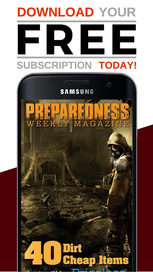 Preparedness Weekly Magazine- screenshot