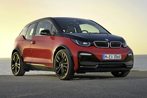 BMW has pumped up the attitude and the power in the i3s but  only the regular i3 will be heading to SA at this stage.   Picture: BMW
