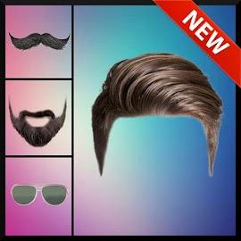 Man Hair Styles Mustache Beard Photo Editor 2018