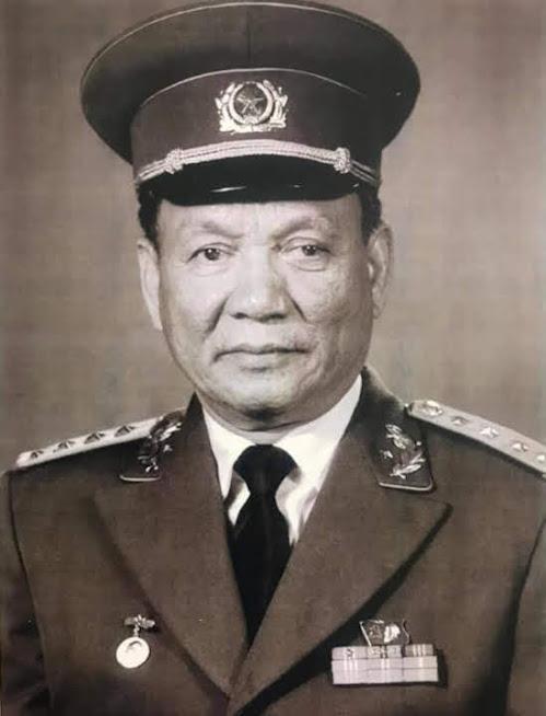 Đồng chí Đại tướng Lê Đức Anh, nguyên Ủy viên Bộ Chính trị, nguyên Chủ tịch nước