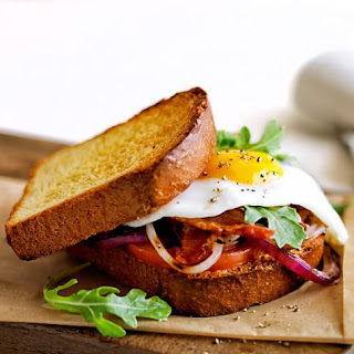 Bacon and Egg Breakfast Sandwiches.