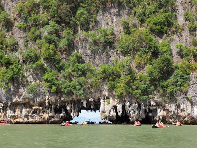 James Bond Island Kayaking Tour by Longtail Boat from Krabi