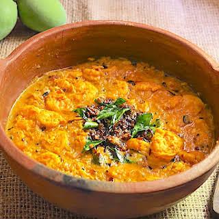 Prawn Curry with Green Mango.