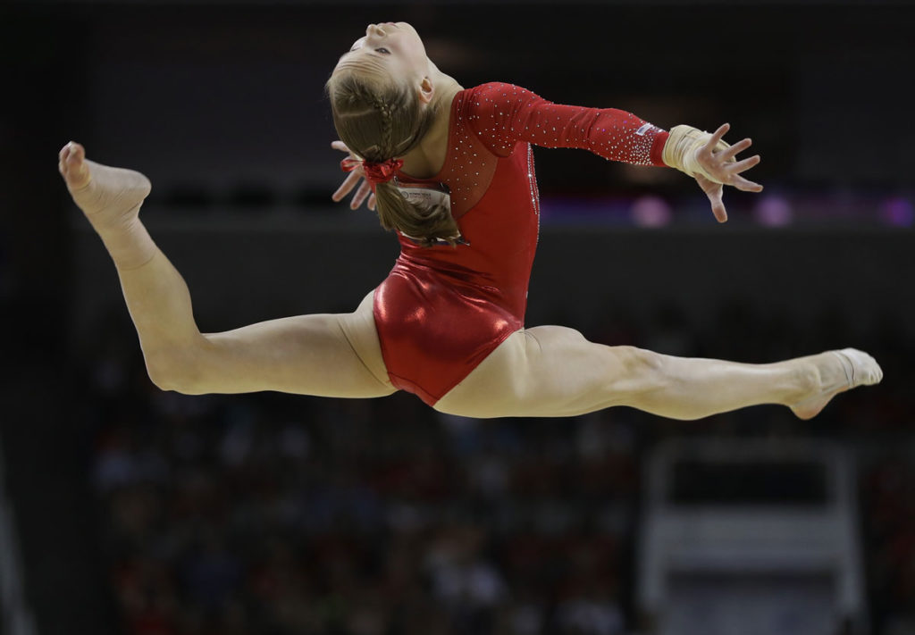 gymnastics-ponytail