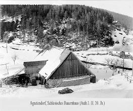 Photo: Agnetendorf, Schles. Bauernhaus