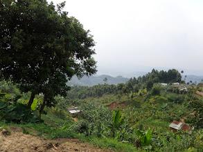 Photo: Rwandan village...