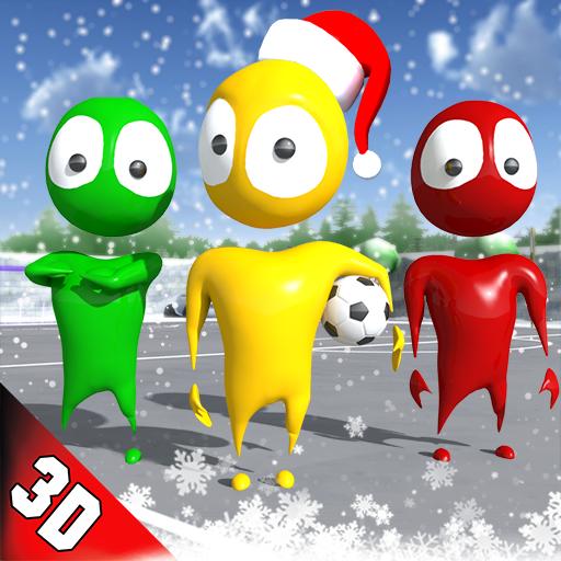 Kids Soccer League Striker: Winter Football 2018 (game)