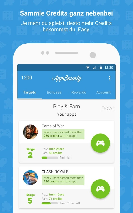 AppBounty - Free gift cards – Android-Apps auf Google Play
