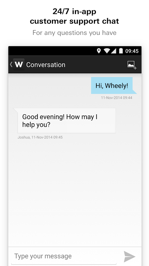 Wheely- screenshot