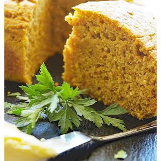 Easy Vegan Pumpkin Cornbread.