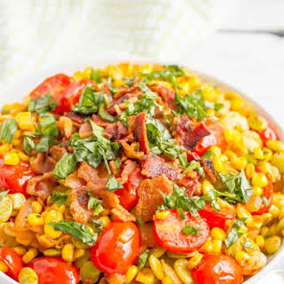 Easy Southern summer succotash.