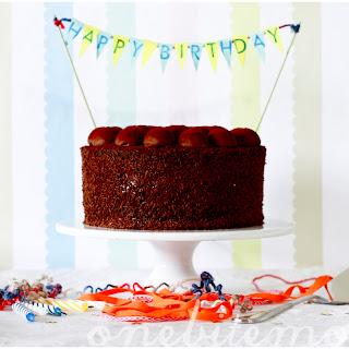 The Triple Chocolate Birthday Cake