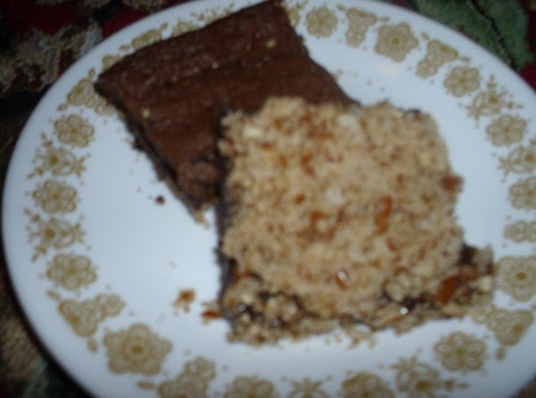 Pretzel Crust Fudge Brownie Recipe