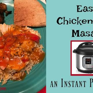 Easy Chicken Tikka Masala ~ An Instant Pot.