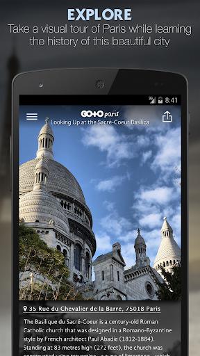 Go To Paris City Travel Guide, Things To Do & Maps screenshot 1