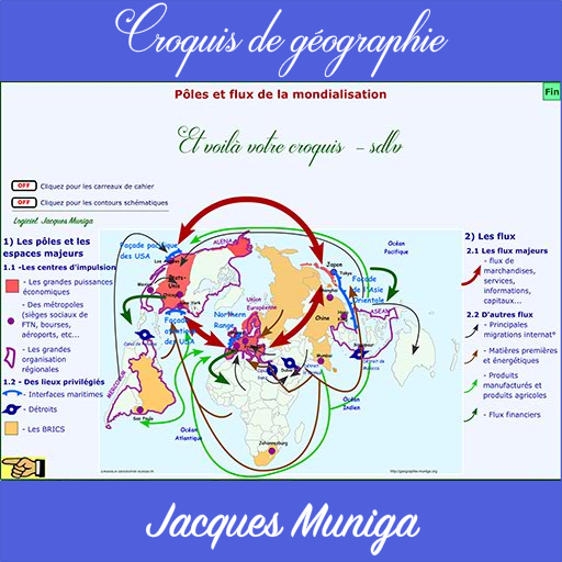 carte de la mondialisation Pôles flux de mondialisation – Applications sur Google Play