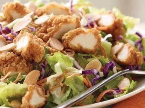 Copy-cat Oriental Chicken Salad