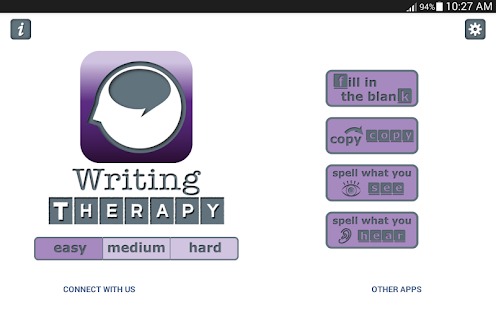 Writing Therapy- screenshot thumbnail