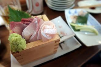 Photo: Sashimi sampler