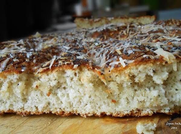 Spicy Italian  Focaccia Bread For Bread Machine