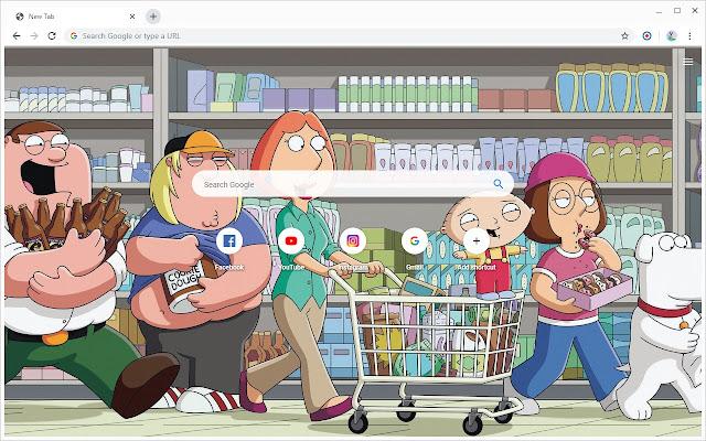 New Tab - Family Guy