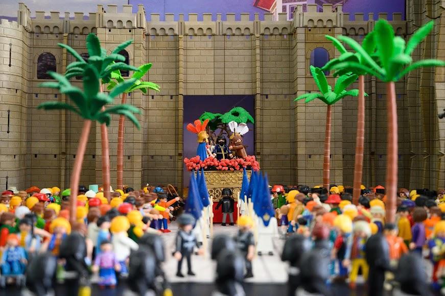 La muestra recrea la salida del Prendimiento de la Catedral.