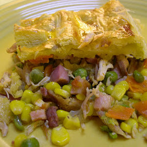 Savory Chicken Bacon Pastry