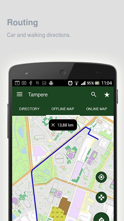 Tampere Map offline Android Apps on Google Play