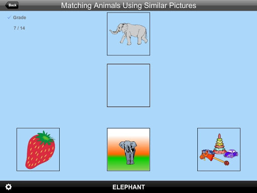 Matching Animals Sim Pic Lite