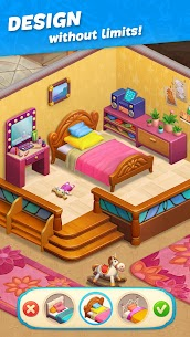 Hawaii Match-3 Mania Home Design MOD (Unlimited Money) 2