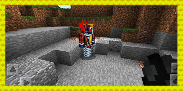 Killer Clown. Addon MCPE - náhled