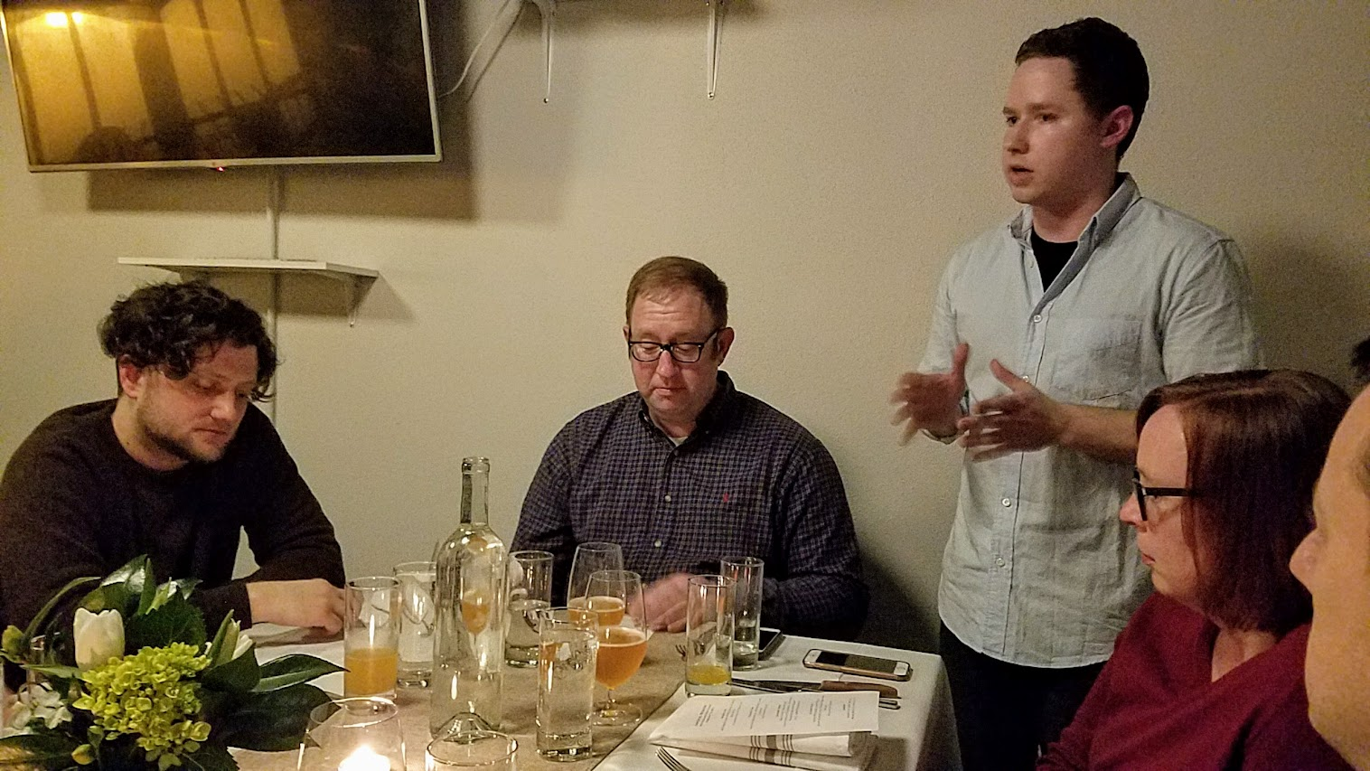 Imperial Session New England Beer Dinner