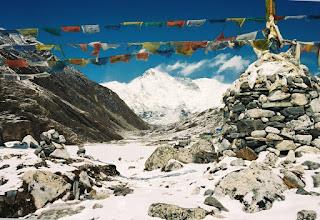 Photo: Cho Oyu, Gtin des Türkis, 8188 m hoch
