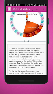 Menstrual Cycle Ovulation and Period Understanding - náhled