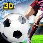 Flick Soccer Free Kick Shot Icon