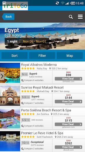 Hotels price Egypt tritogo.com