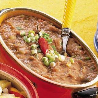 Taco Tomato Refried Beans.