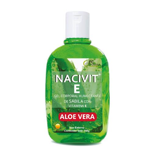 crema corporal nacivit e gel corporal humectante sabila y vit c 200gr
