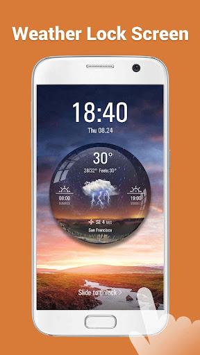 Desktop Weather Clock Widget screenshot 8