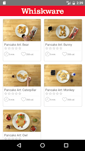 Whiskware Pancake Art- screenshot thumbnail