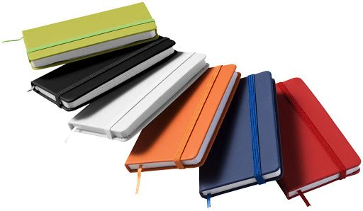 Lined Paper Rainbow Notebooks