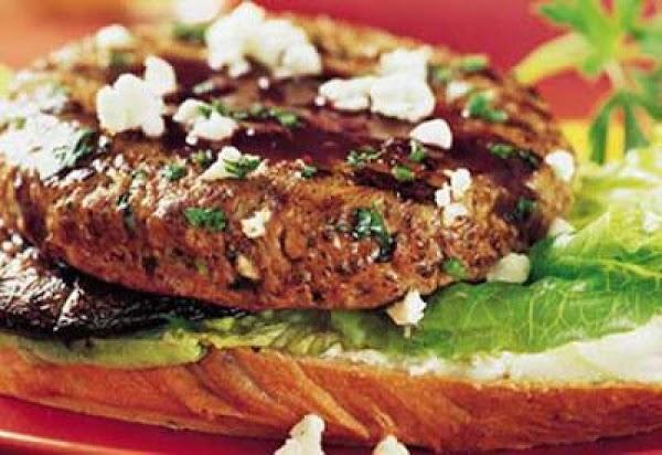 Mushroom Merlot Burger Recipe