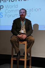"""Photo: Stanislav Naumov - final panel discussion - """"Comms Associations' Mission Today""""- 2012"""