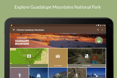 Guadalupe Mountains NP Chimani- screenshot thumbnail