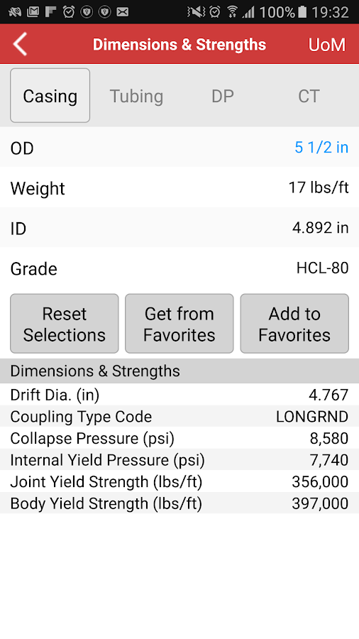 Halliburton eRedBook® Mobile- screenshot