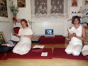 Photo: recitace - chanting